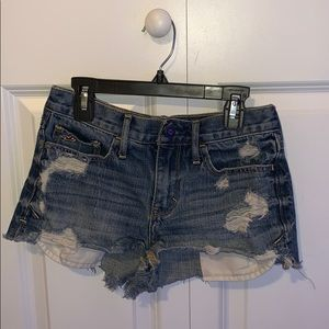 Hollister Blue Ripped Jeans (0)